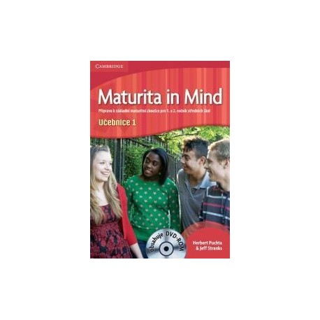 Maturita in Mind učebnice 1 + DVD-ROM Cambridge University Press 9780521171984