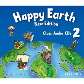 Happy Earth New Edition 2 Class CDs