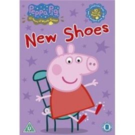 Peppa Pig DVD - New Shoes and other stories