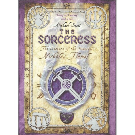 The Sorceress (The Secrets of the Immortal Nicholas Flamel vol. 3)