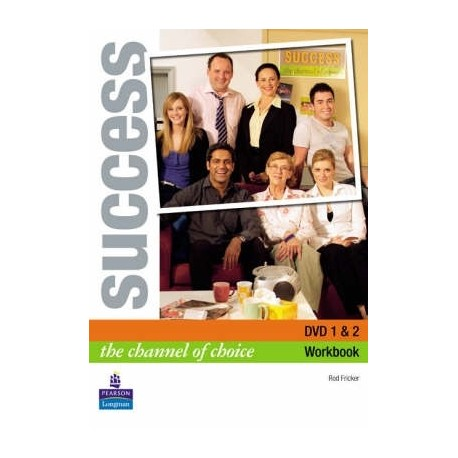 Success DVD Activity Book Longman 9780582854093