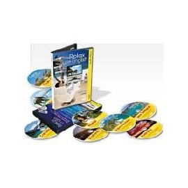 Sada 10ti kusů cestopisů Relax English na DVD