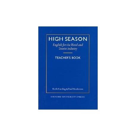 High Season Teacher's Book Oxford University Press 9780194513074