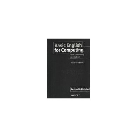 Basic English for Computing Teacher's Book Oxford University Press 9780194574716