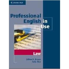 Professional English in Use: Law (with key)