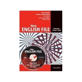 New English File Elementary Teacher's Book + Test CD-ROM