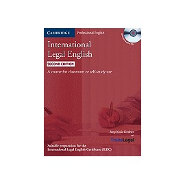 International Legal English Student's Book + CDs Second Edition