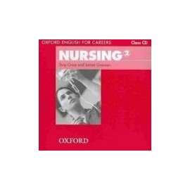 Oxford English for Careers: Nursing 2 Class CD
