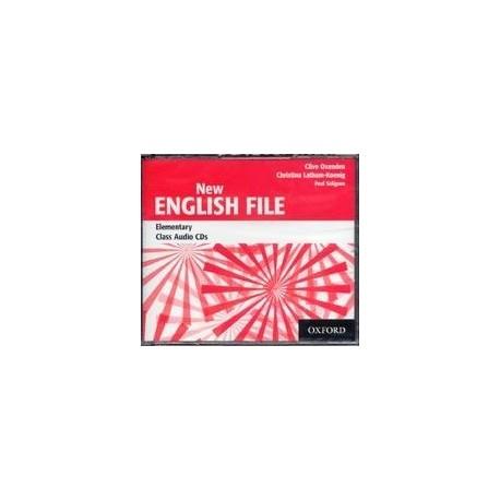 New English File Elementary Class Audio CDs (3) Oxford University Press 9780194384308