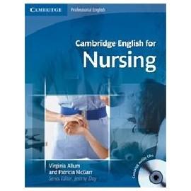 Cambridge English for Nursing + CDs (Intermediate-Upper-intermediate)