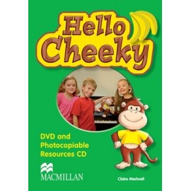 Hello Cheeky DVD + Photocopiable CD