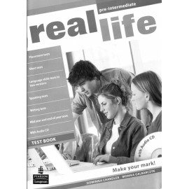 Real Life Pre-intermediate Test Book + CD