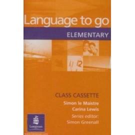 Language to go Elementary Class Audio Cassette
