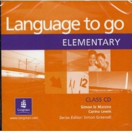 Language to go Elementary Class Audio CD