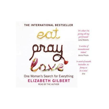 Eat Pray Love CD (Audiobook) Bloomsbury 9781408800126