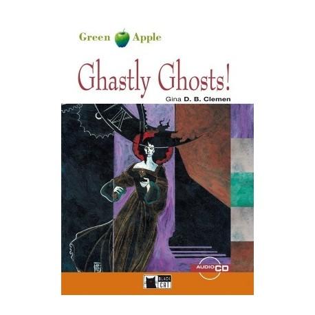 Ghastly Ghosts! + CD Black Cat - CIDEB 9788877546241