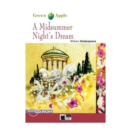 A Midsummer Night's Dream + CD-ROM Black Cat - CIDEB 9788853010148