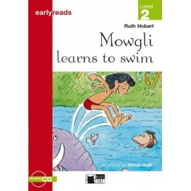 Mowgli Learns to Swim + CD (Level 2)