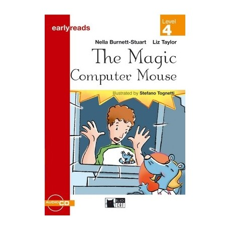 The Magic Computer Mouse + CD (Level 4) Black Cat - CIDEB 9788877544575