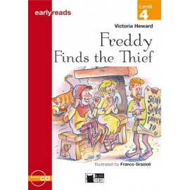 Freddy Finds the Thief + CD (Level 4)