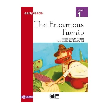 The Enormous Turnip (Level 1) Black Cat - CIDEB 9788853008138