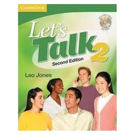 Let's Talk Second Edition Level 2 Student's Book with Self-study Audio CD