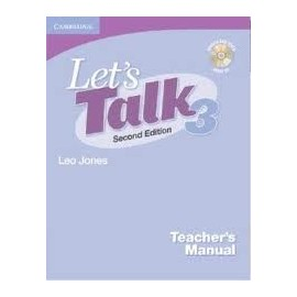 Let's Talk Second Edition Level 3 Teacher's Manual with Audio CD
