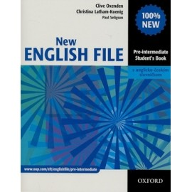 New English File Pre-Intermediate Student's Book + CZ Wordlist