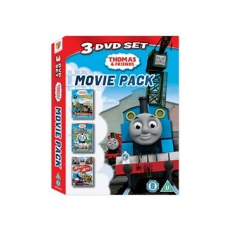 Thomas and Friends 3 DVD Movie Pack 5034217416380