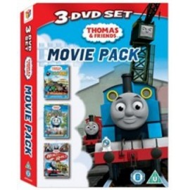 Thomas and Friends 3 DVD Movie Pack