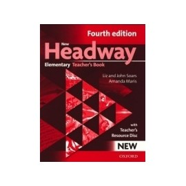 New Headway Elementary Fourth Edition Teacher's Book + CD-ROM