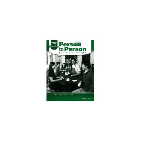 Person to Person Third Edition Starter Teacher's Book Oxford University Press 9780194302180