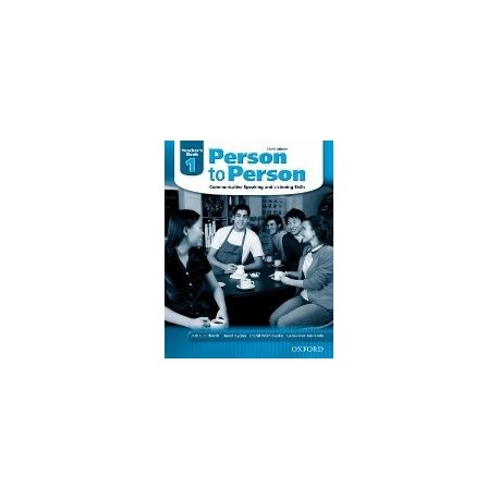 Person to Person Third Edition 1 Teacher's Book Oxford University Press 9780194302197