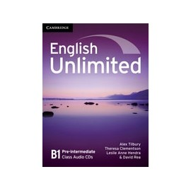 English Unlimited Pre-intermediate Class CDs
