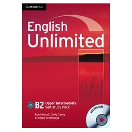 English Unlimited Upper Intermediate Self-study Pack