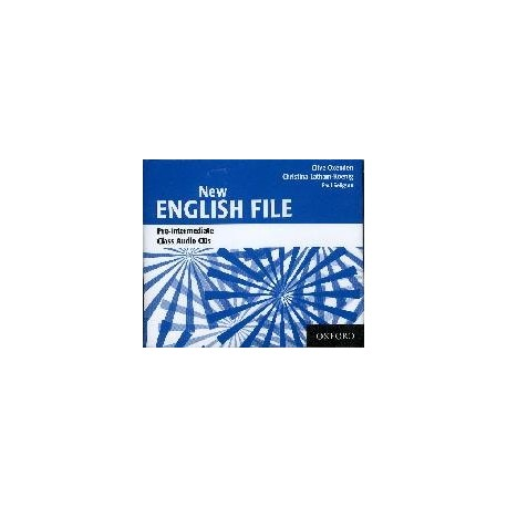 New English File Pre-Intermediate Class Audio CDs (3) Oxford University Press 9780194384384