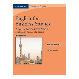 English for Business Studies Third Edition Teacher's Book