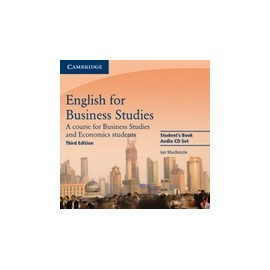 English for Business Studies Third Edition Audio CDs