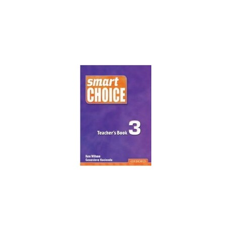 Smart Choice 3 Teacher's Book Oxford University Press 9780194306041