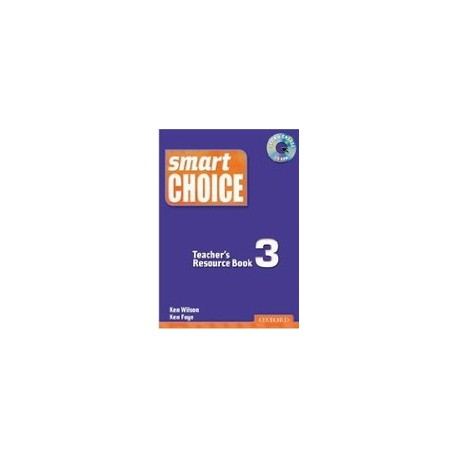 Smart Choice 3 Teacher's Resource Book + CD-ROM Oxford University Press 9780194306195