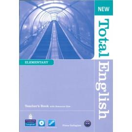 New Total English Elementary Teacher's Book + CD-ROM