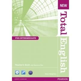 New Total English Pre-Intermediate Teacher's Book + CD-ROM