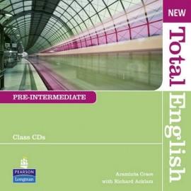 New Total English Pre-Intermediate Class CDs
