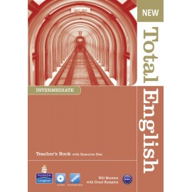 New Total English Intermediate Teacher's Book + CD-ROM