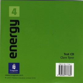 Energy 4 Test Audio CD