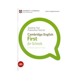 Speaking Test Preparation Pack for First Certificate for Schools
