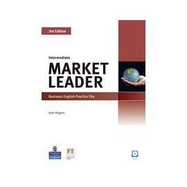 Market Leader Third Edition Intermediate Practice File + CD