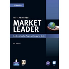 Market Leader Third Edition Upper-Intermediate Teacher´s Book with Test Master CD-ROM