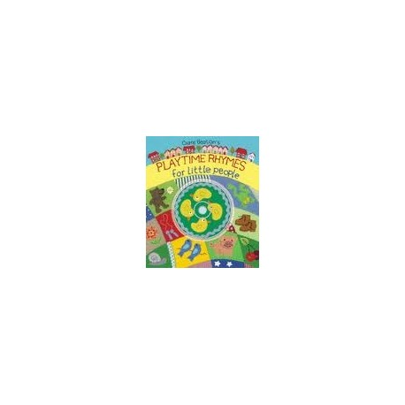 Playtime Rhymes for little people + CD Barefoot Books 9781846861550