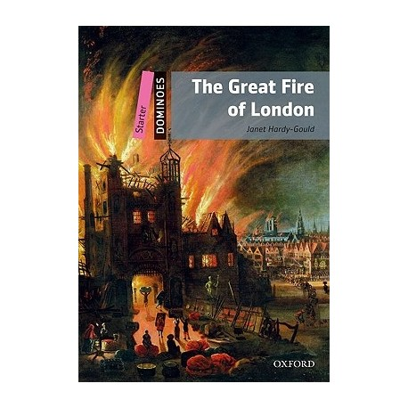 Oxford Dominoes: The Great Fire of London + MultiROM Oxford University Press 9780194246699